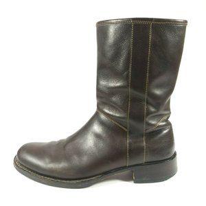 Cole Haan Dylan Side Zip Mid Calf Boots